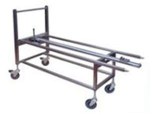 Unloading trolley / loading / electrical / for sterilization chamber ELT BMM Weston
