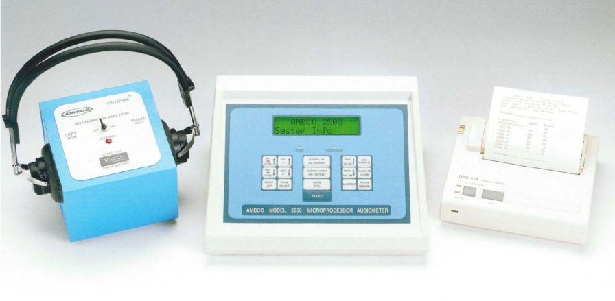 Screening audiometer (audiometry) / audiometer / digital 2500 Ambco Audiometers