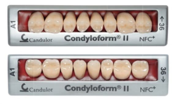 Nanocomposite dental prosthesis CONDYLOFORM® II NFC Candulor