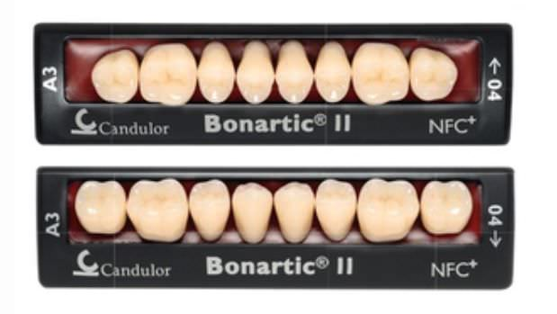 Nanocomposite dental prosthesis BONARTIC® II NFC Candulor