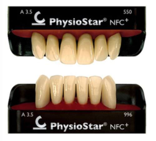 Nanocomposite dental prosthesis PHYSIOSTAR® NFC Candulor