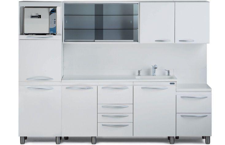 Sterilization cabinet / dental / with sink SST SARATOGA S.p.A.