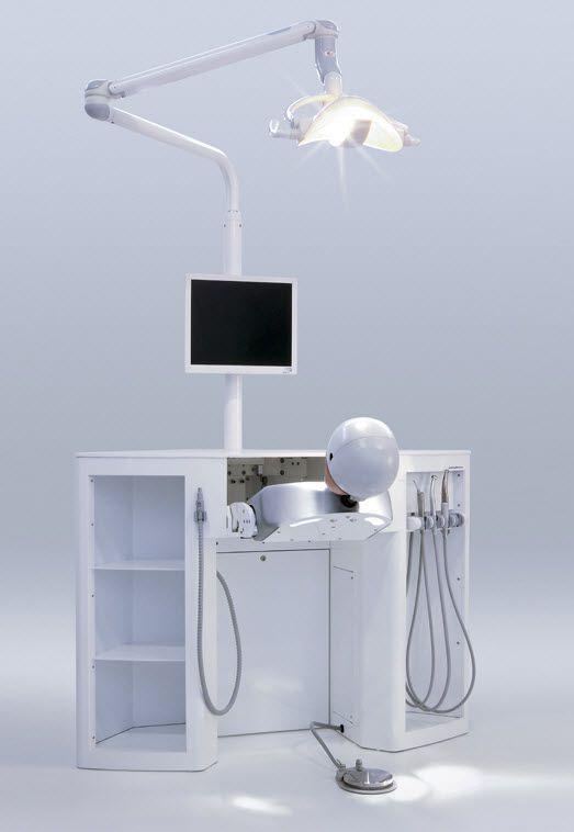 Dental care patient simulator / head Smily SARATOGA S.p.A.