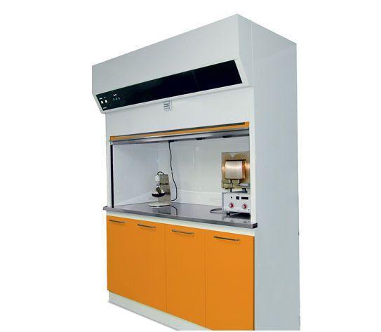 Aspirating fume hood / laboratory / dental laboratory SARATOGA S.p.A.