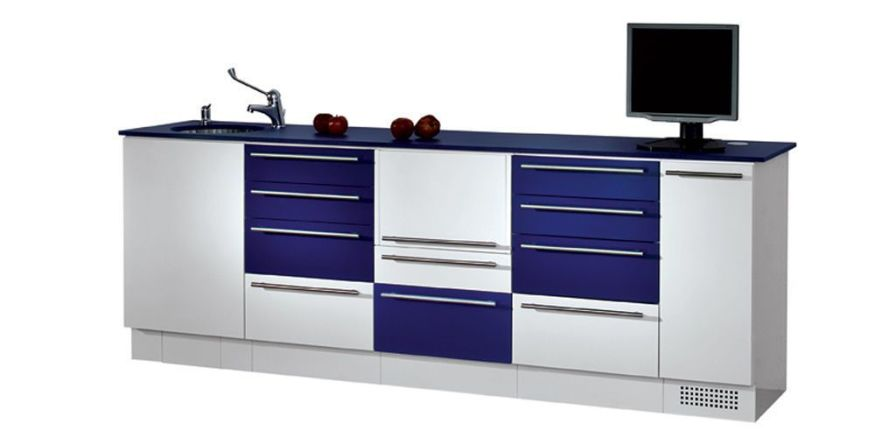 Medical cabinet / dentist office / with sink / modular CB SARATOGA S.p.A.