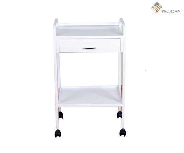 Medical device trolley / 2-tray / 1-drawer PS-EQ04 PROJESAN