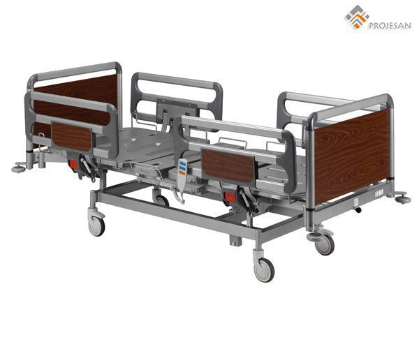 Hospital bed / electrical / on casters / 4 sections PS-NEB07 PROJESAN