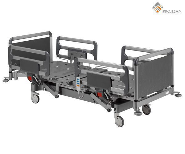 Hospital bed / electrical / on casters / 4 sections PS-NEB06 PROJESAN