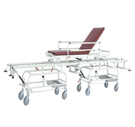 Transfer stretcher trolley / Trendelenburg / mechanical / 2-section PS-STR03 PROJESAN