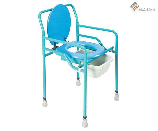 Shower chair / with bucket / with armrests PS-CT12 PROJESAN