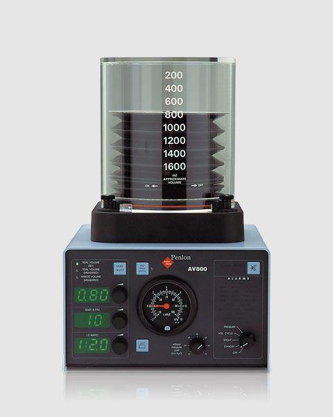 Electro-pneumatic ventilator / anesthesia AV800/80 Penlon
