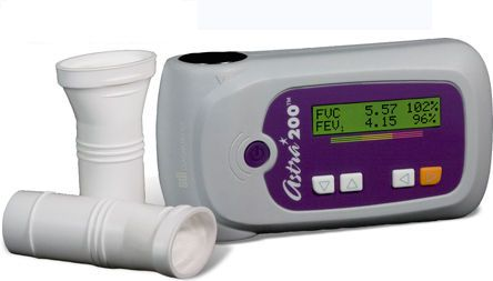 Hand-held spirometer / wireless / USB Astra200 SDI Diagnostics