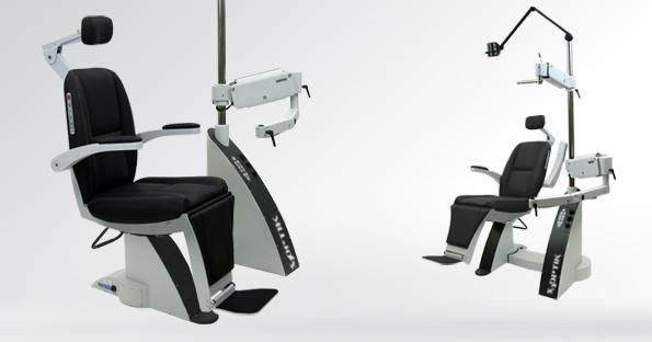 Ophthalmic workstation / with chair / 1-station 2500-CB S4Optiks