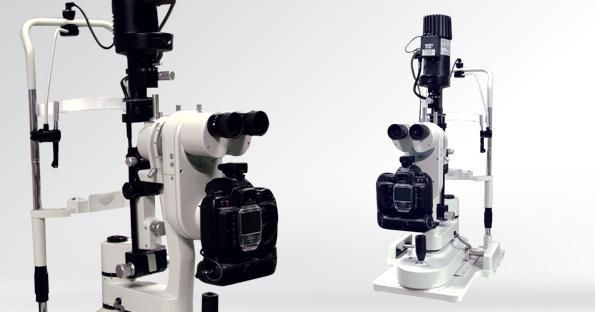 Slit lamp with digital video camera RIGHTON RS-1000 CLINICAL S4Optiks