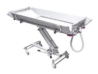 Mechanical shower trolley / height-adjustable Crystal 3700 Reval