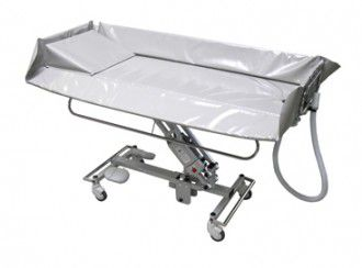 Electrical shower trolley / height-adjustable / bariatric Crystal 3860 Reval