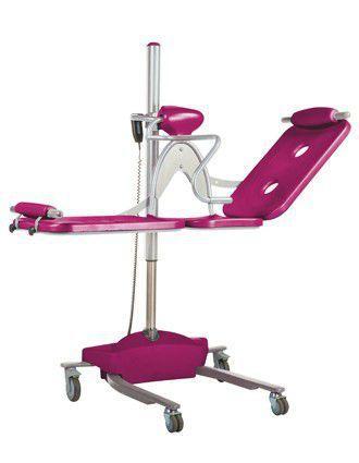 Height-adjustable shower stretcher / electric Topaz Transfer Reval
