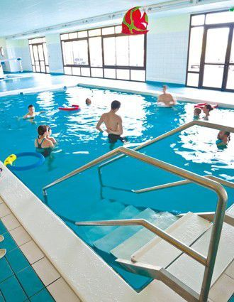 Rehabilitation swimming pool Reval