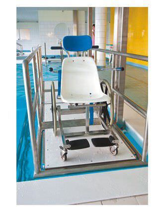 Lifting platform wheelchair / pool Reval