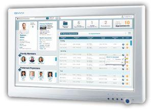 "Fanless medical panel PC 22"", Dual Core 1.8 GHz | ONYX-2121 Onyx Healthcare Inc"