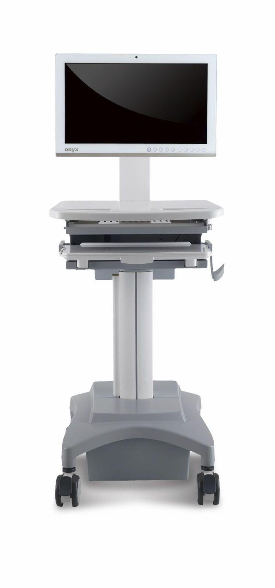 Medical computer cart MCT-MA100 Onyx Healthcare Inc