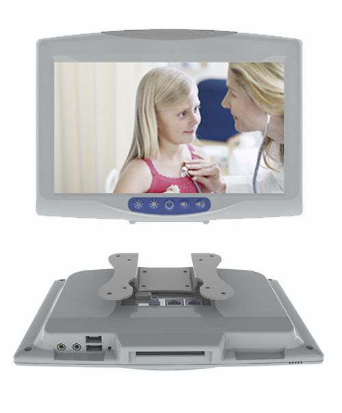 "Fanless patient infotainment terminal 10.1"", 800 MHz | ONYX-BE100 Onyx Healthcare Inc"