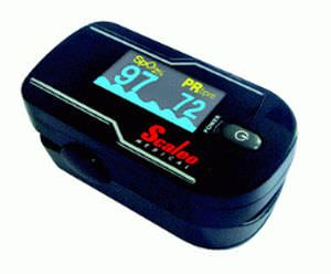 Fingertip pulse oximeter / compact SCALEO MEDICAL
