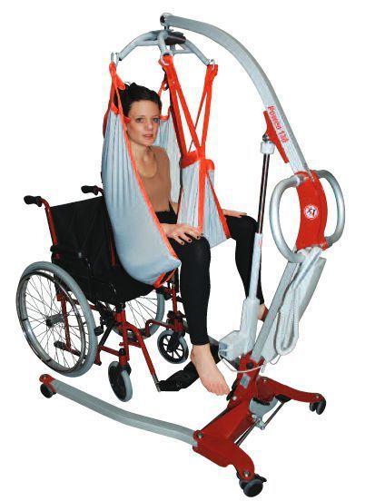 Mobile patient lift / folding Poweo® 130 SCALEO MEDICAL