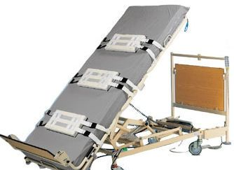 Electrical bed / height-adjustable / verticalization / 1 section Leo® SCALEO MEDICAL