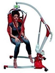 Mobile patient lift / folding Poweo® 150 SCALEO MEDICAL