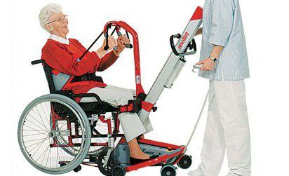 Mobile patient lift / electrical Quick Raiser® SCALEO MEDICAL