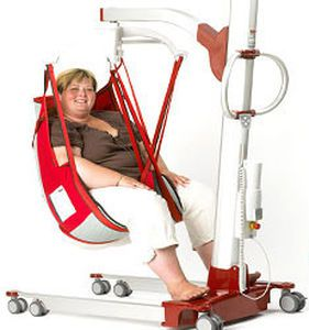 Mobile patient lift / electrical / bariatric Partner® 230 SCALEO MEDICAL