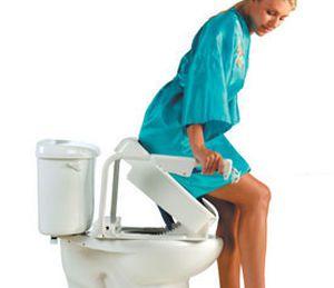 Raised toilet seat SCALEO MEDICAL