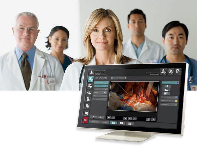 "LCD display / medical 21.5"",24""   VIEWMEDIC TF-serie Rein EDV - MeDiSol"