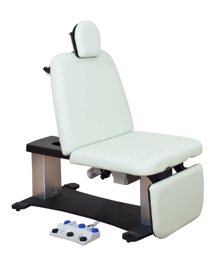 Bariatric examination chair / medical / electrical / height-adjustable 100 Series Oakworks Med