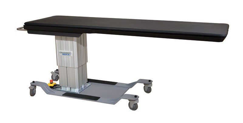 Height-adjustable C-arm table / electrical / with table CFPM100-Rectangular Oakworks Med