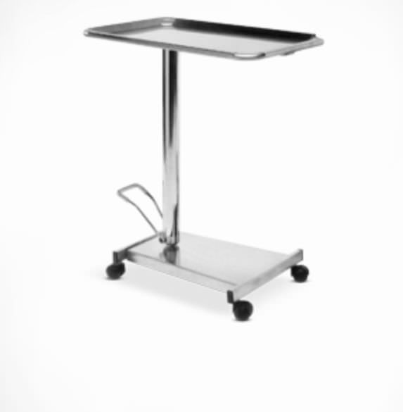 Mayo table / on casters / surgical / 1-tray Psiliakos Leonidas