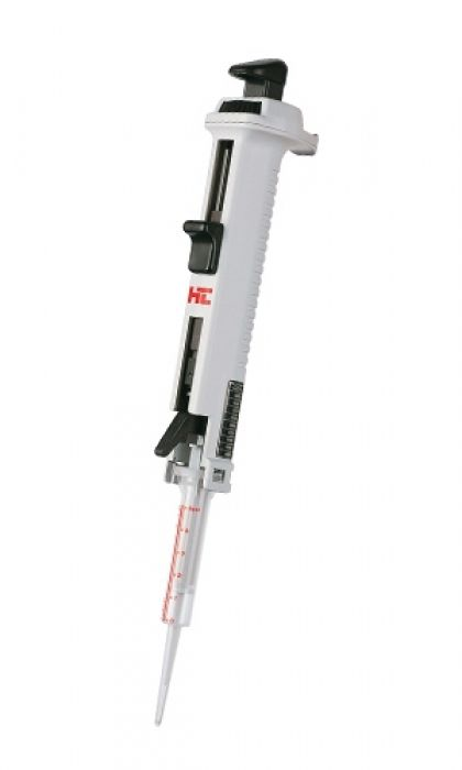 Volume adjustable dispenser MINILAB 201 PZ HTL