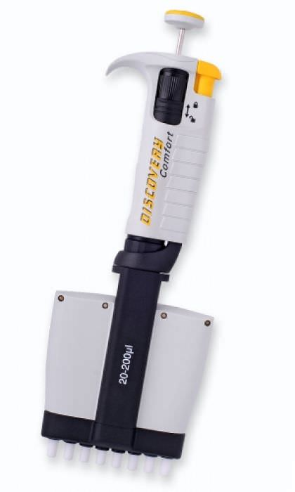 Mechanical pipette / variable volume / multichannel / with ejector DISCOVERY Comfort PZ HTL