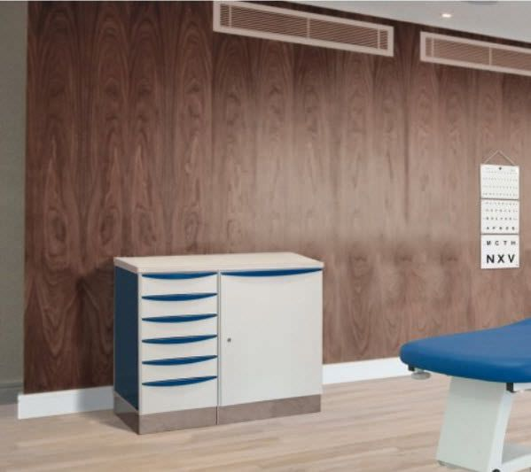 Storage cabinet / for healthcare facilities / modular Promotal