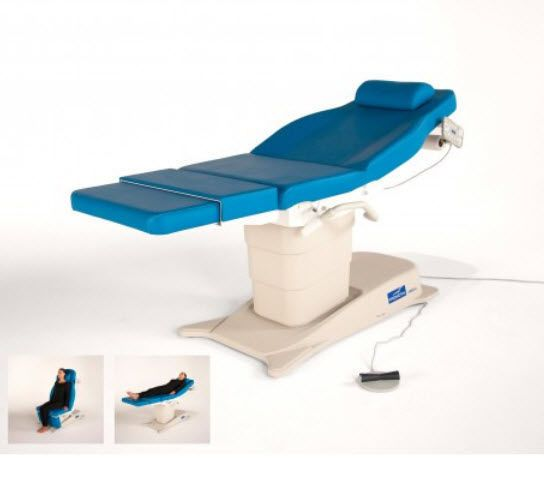 Medical examination chair / electrical / height-adjustable / 3-section eMotio® Promotal