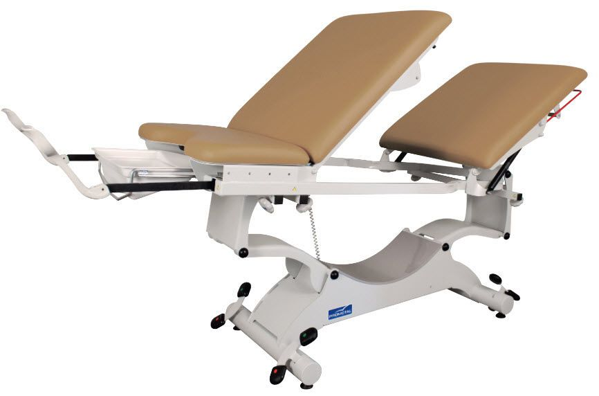 Gynecological examination table / electrical / height-adjustable / Trendelenburg 200 kg | DUOLYS® 2060 Series Promotal