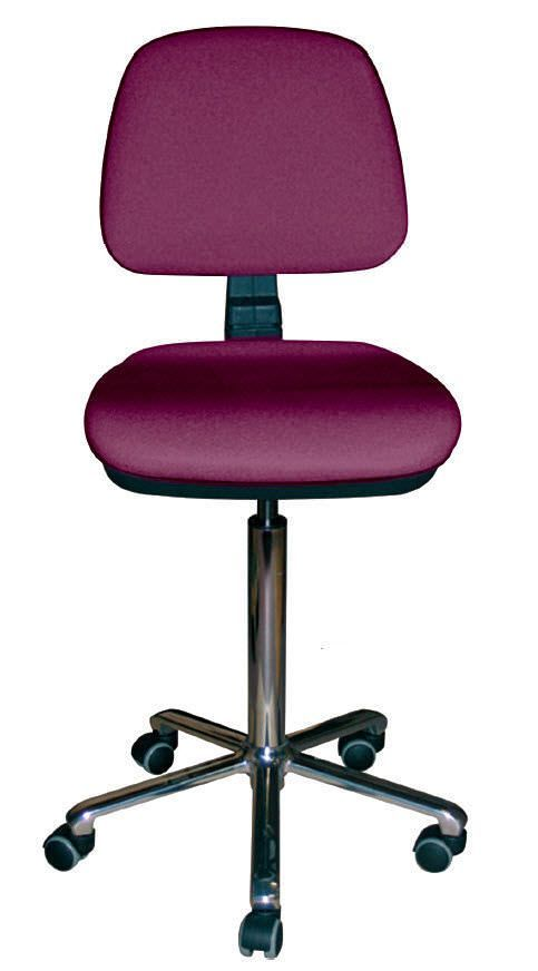 Medical stool / pneumatic / rotating / on casters 66 Promotal