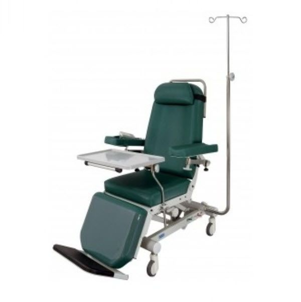 Hemodialysis armchair / on casters / tilting / reclining / 3 sections Polycare Promotal