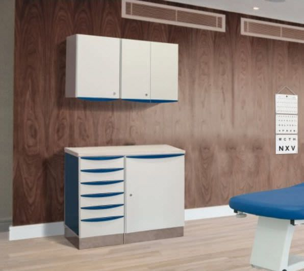 Storage cabinet / for healthcare facilities / fixed / wall-mounted Promotal