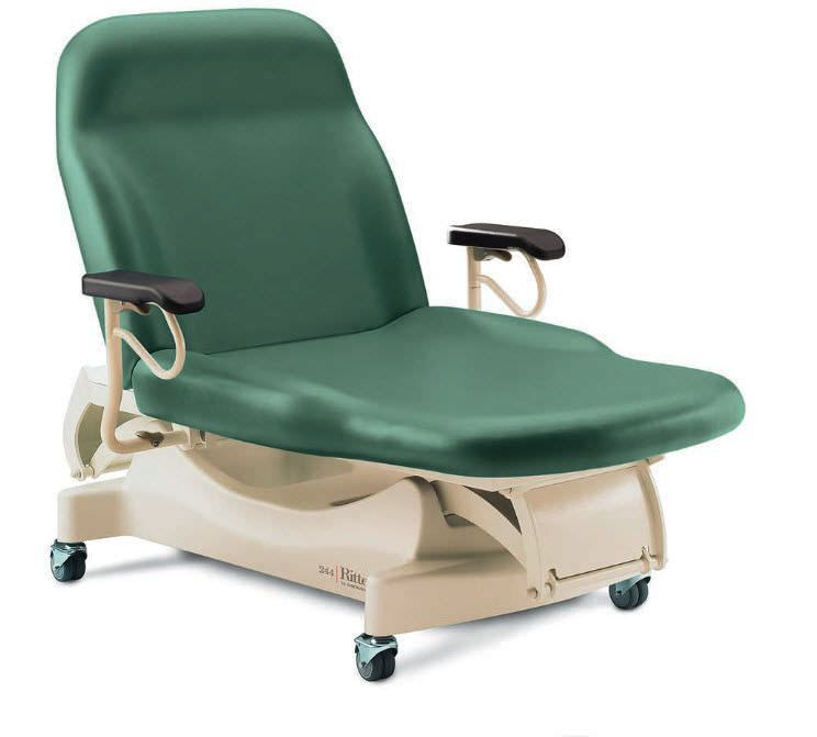 Bariatric examination table / electrical / height-adjustable / 2-section 385 kg | RITTER 244 Promotal