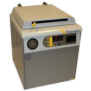 Laboratory autoclave / vertical / automatic / electrically heated 150 L Priorclave