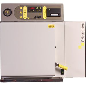 Laboratory autoclave / compact / bench-top / with vacuum cycle 60 L   Compact 60 Priorclave