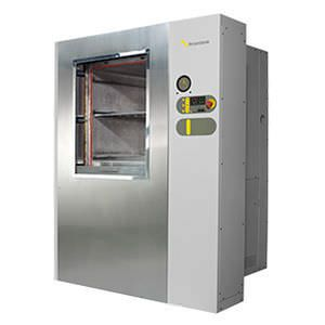 Laboratory autoclave / front-loading / automatic / microprocessor controlled 450 L Priorclave