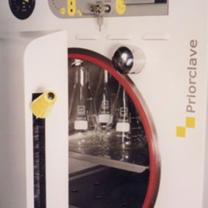 Laboratory autoclave / front-loading / with vacuum cycle / microprocessor controlled 100 L   QCS Series Priorclave